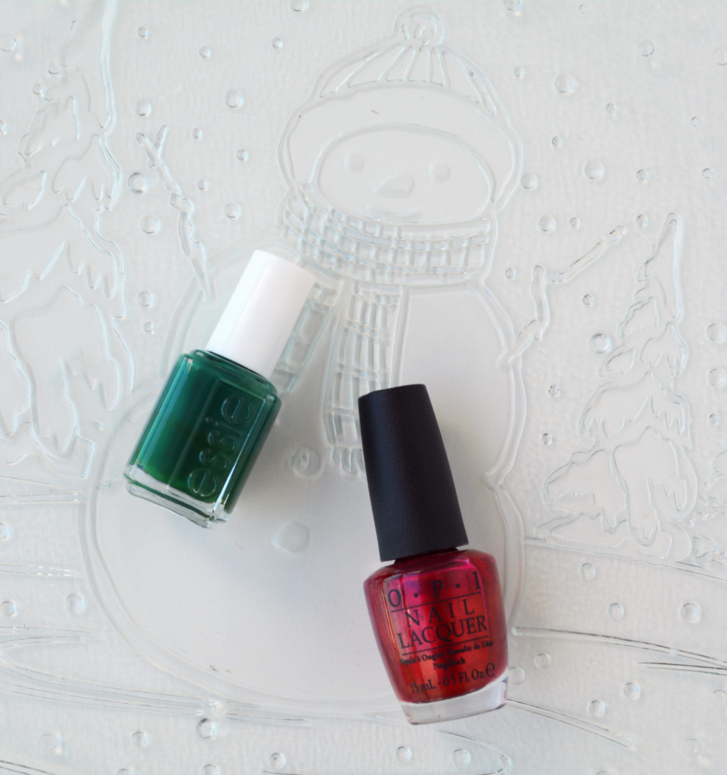 Essie Going Incognito OPI An Affair In Red Square (0.5oz/$10.00)