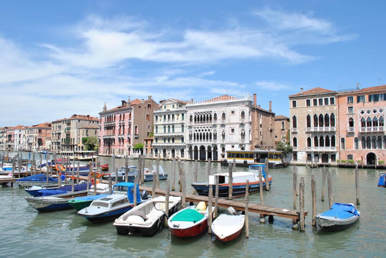 Venice Italy Boats