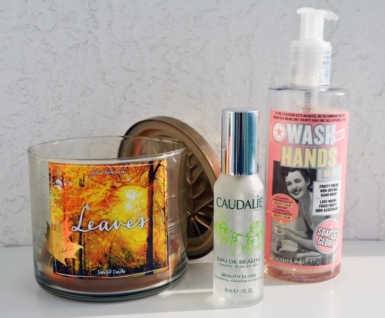 Soap & Glory Wash Your Hands Of It, Caudalie Beauty Elixir