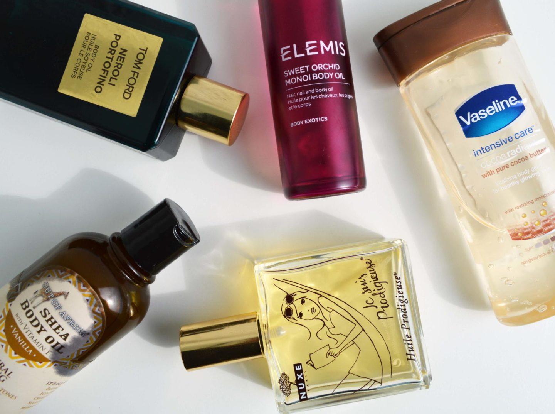 Top 5   Body Oils