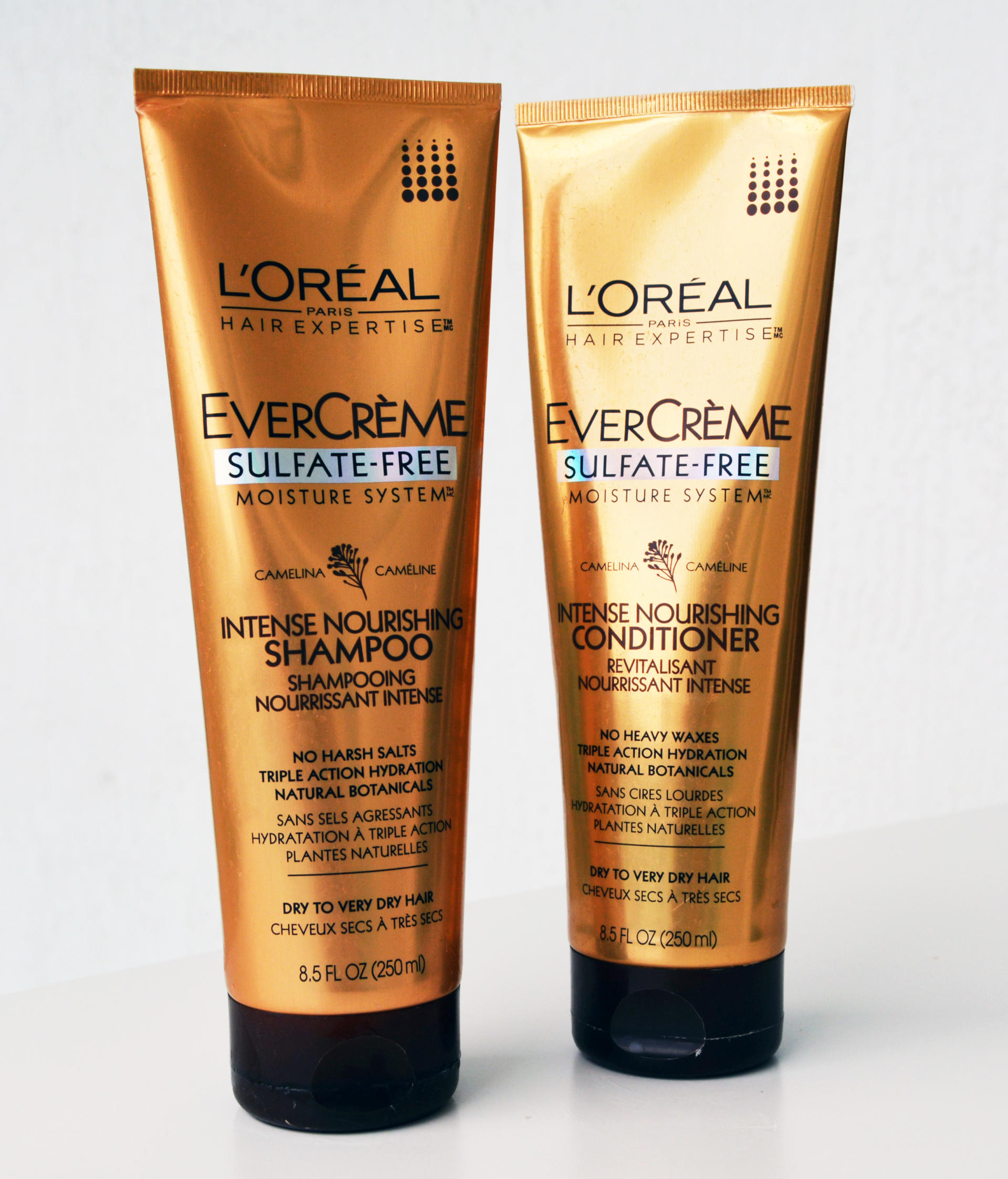 L'Oréal EverCreme Deep Nourish Shampoo and Conditioner