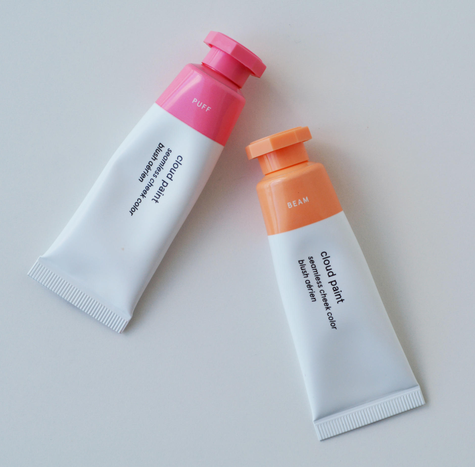 Glossier Cloud Paints Puff and Bean