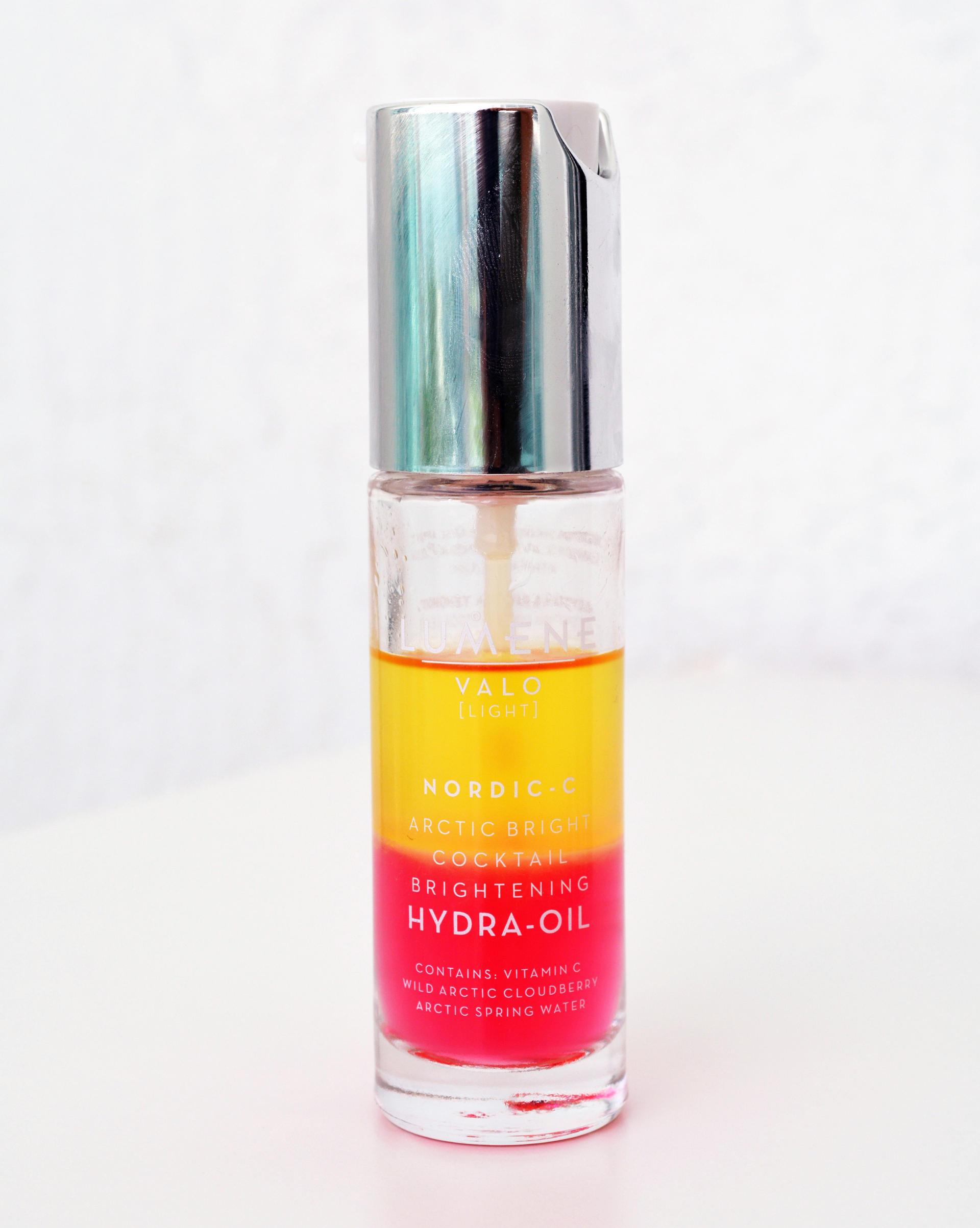 lumene hydra oil